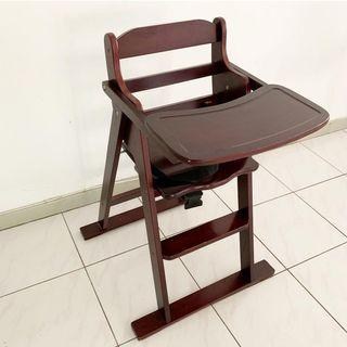 Solid Wood Baby Chair / High Chair