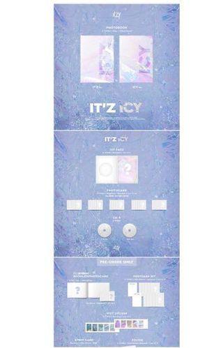 [PRE-ORDER] ITZY - IT'Z ICY album