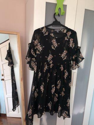 Primark flowery dress