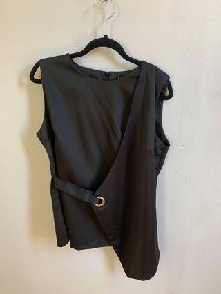 Black fancy top