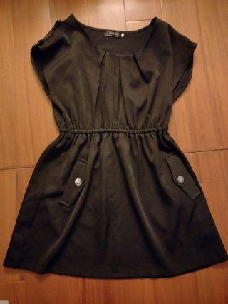 🚚 OB黑色洋裝