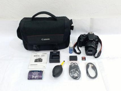 CANON EOS 1300D with EF-S 18-55mm IS II Lens, WiFi with NFC, Full HD 1080p Video, 58mm UV Filter