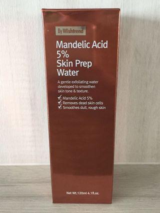 $24 Mailed!! By Wishtrend Mandelic Acid 5% Skin Prep Water 120ml