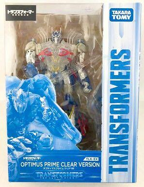 TakaraTomy Transformers The Last Knight TLK-EX Optimus Prime Clear Version