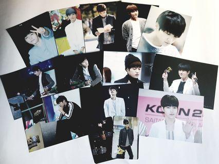 🚚 Myungsoo L INFINITE Postcard Set