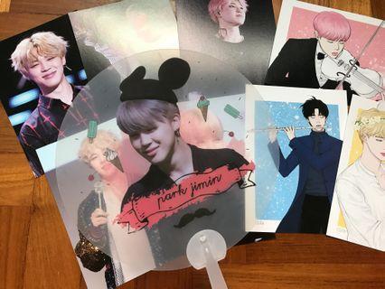 BTS Jimin fan / photos / postcards (Parkjamjam)