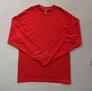 Champion Long Sleeve T Shirt