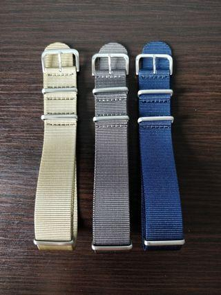 Premium NATO strap 22mm suitable for skx, steinhart , diver watches, omega, Rolex, Dan henry, submariner, Seiko, citizen,skx007, skx009,Seiko turtle, Seiko tuna, Seiko samurai and other models