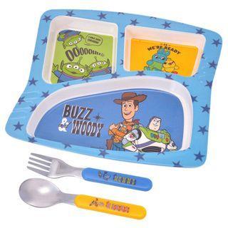 迪士尼兒童餐盤組