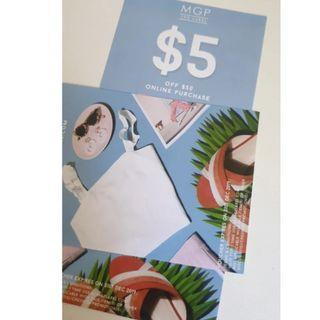 2 MGP the label off $50 online purchase discount vouchers
