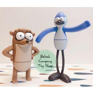 McD 2016 Cartoon Network regular show 天兵公園 鳥哥 阿天 絕版玩具 公仔 全新