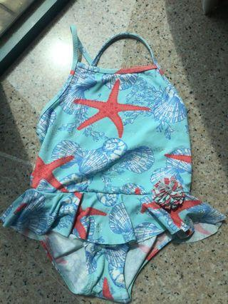 Zara baby 女童泳衣Swimsuit
