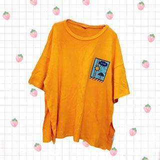 💮夏日大T-shirt one piece 💮