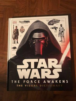 🚚 Star Wars visual dictionary book