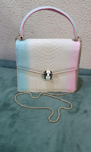 Bulgari Serpentin Rainbow Chain Bag
