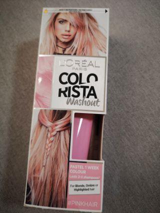 L'Oréal Colorista Pastel Pink Temporary Hair Dye