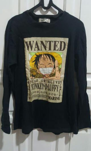 One Piece Luffy Wanted 300.000.000 RARE