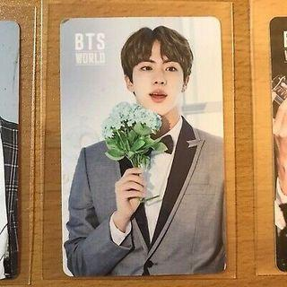 [WTS] Jin Official BTS World Ost Photocard