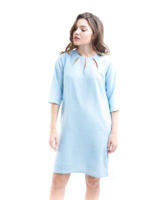 🚚 Light blue dress
