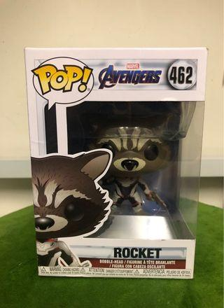 Pop avengers figure 模型 rocket marvel 復仇者