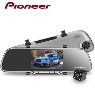 Pioneer FHD DVR Dual Camera with night vision