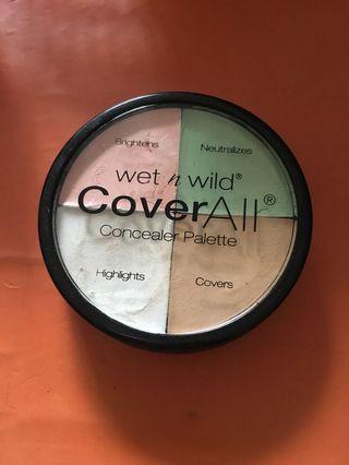 Concealer Palette Wet N Wild Cover All