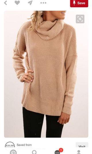 Rollneck knit