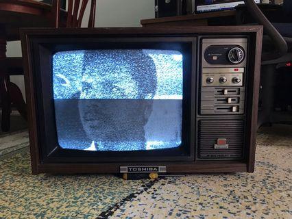 TV toshiba antik 19inci