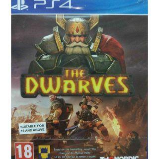 New Playstation 4 PS4 The Dwarves Region 2