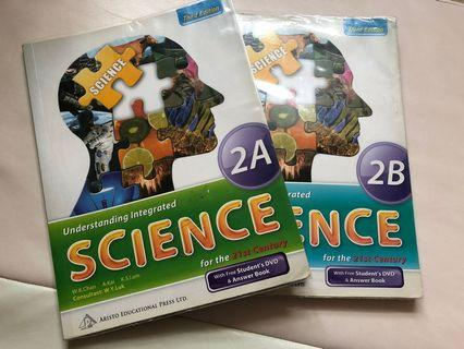 Understanding integrated science 2A 2B