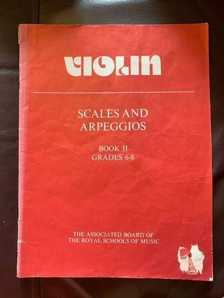 小提琴書 violin books