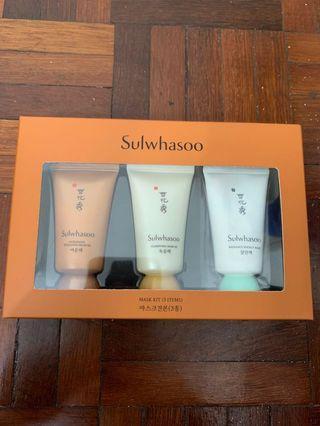 Sulwhasoo Mask Kit 3pcs
