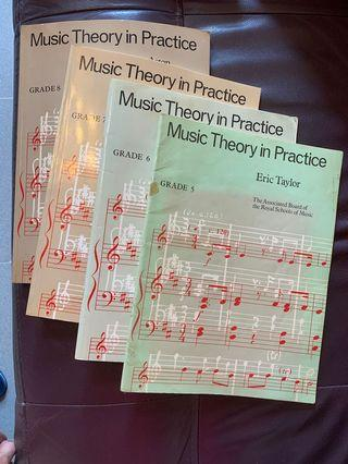 五至八級樂理書 Gr 5-8 music theory practice book