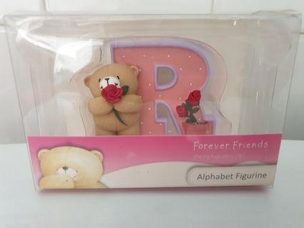 🚚 Forever Friends Alphabet Figurine 'R'