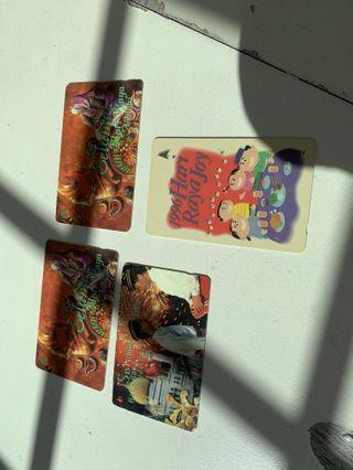 Old phone cards