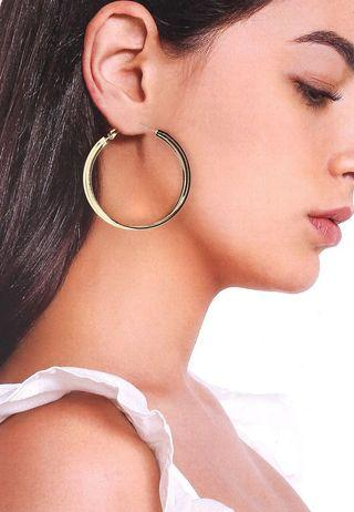 💯Cindy Gold Hoops ( Retails for 2k)
