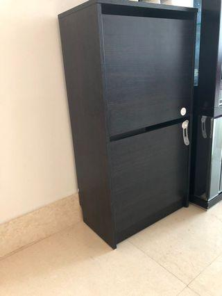 Ikea shoes cabinets black brown