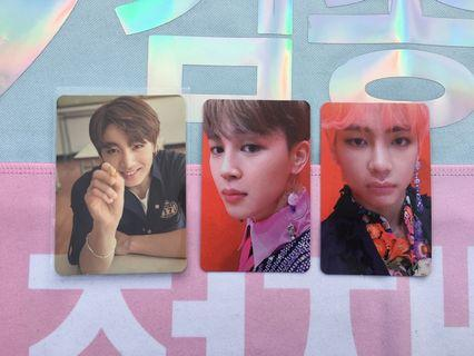 BTS Photocards (Seasons Greetings, Love Yourself Answer)
