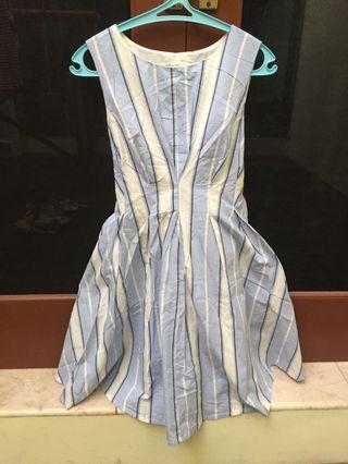 dress biru bagus banget aslinya