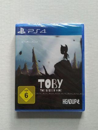Toby The Secret Mine PlayStation PS4