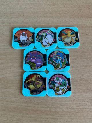 Pokemon Tretta U4 Full Hyper class set