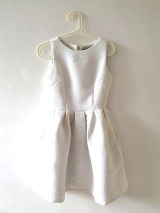 [UNUSED] TWENTY3 SLEEVELESS WHITE DRESS