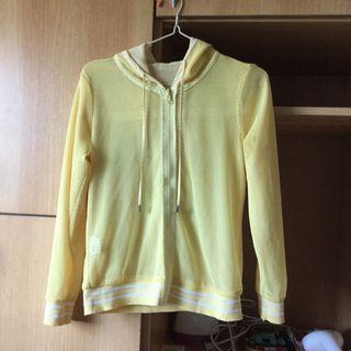 🚚 夏天薄外套 可雙面穿 黃