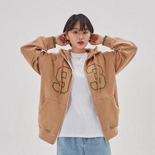 🚚 韓國1993刺繡連帽外套