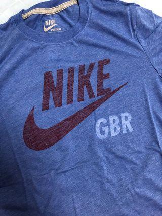絕版 寶藍 Nike 短袖 上衣 運動 休閒 TEE