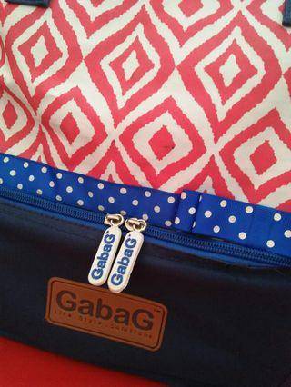 Gabag Ulos Cooler Bag / Therma Bag/ Tas ASI