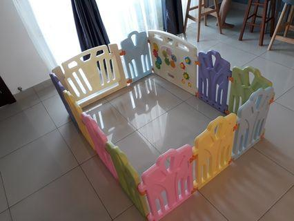 Toddler Safety Play Fence