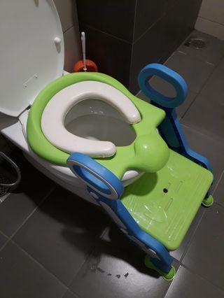 Toddler Toilet Training Seat with Ladder