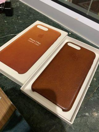 Authentic 7+ leather case