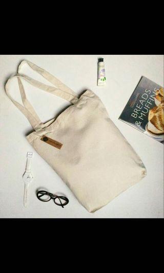 Canvas Tote Bag - Off White